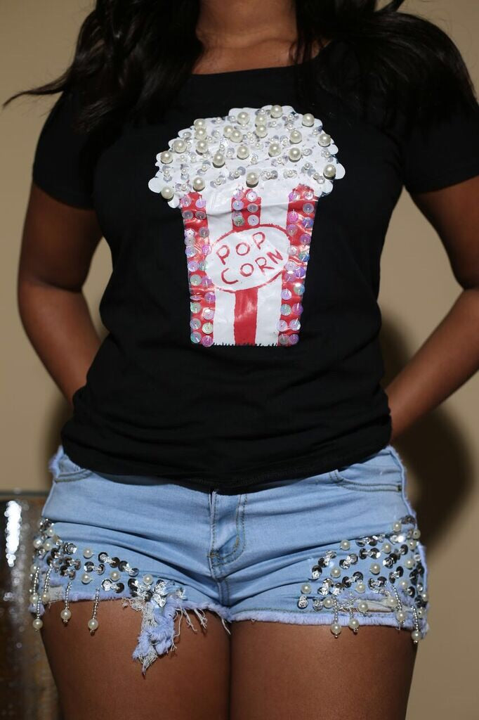 "The ""Pop Corn"" Shirt 2"