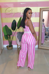"The ""Pink Polka"" Jumpsuit"