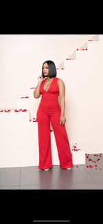"The ""Night out on Valentines"" Jumpsuit"