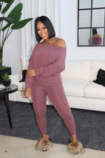 "The ""Always Chillin"" Mauve Set"