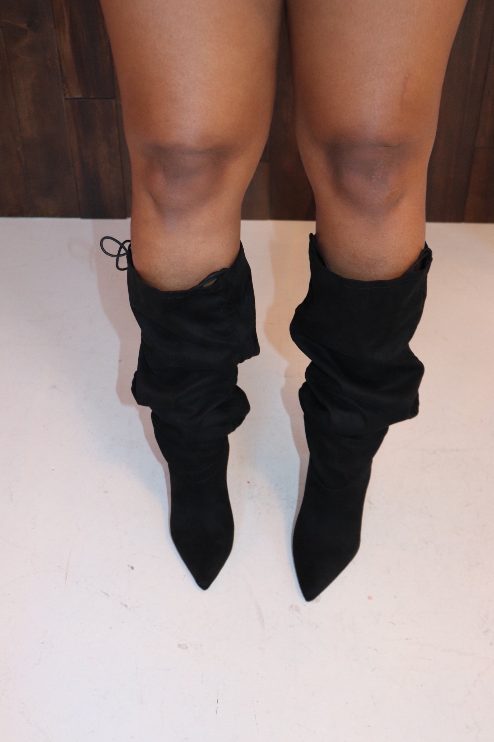 "The ""Sophia"" Black Boots"