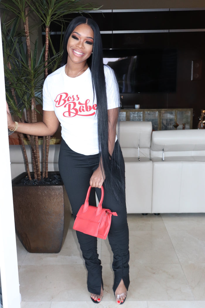 "The ""Red Boss Babe"" T-shirt"