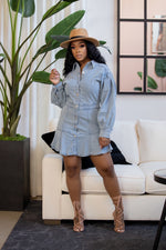 "The ""Lady In Denim"" Dress"