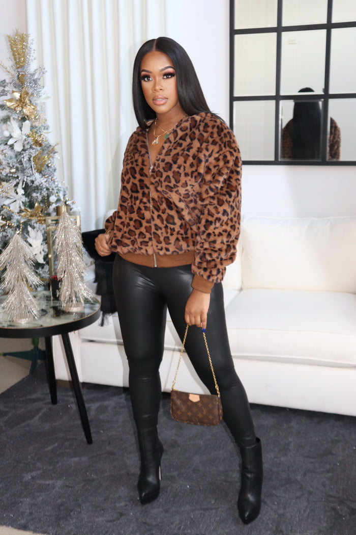 "The ""Cheetah Me Out"" Jacket"