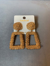 "The ""Gold Chrissy"" Earrings"