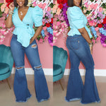 "The ""Drama Girl"" Bell Bottom Jeans"