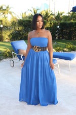 "The ""Jazz it up"" Blue Jumpsuit"