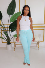 "The ""Mint"" Stacked Pants"