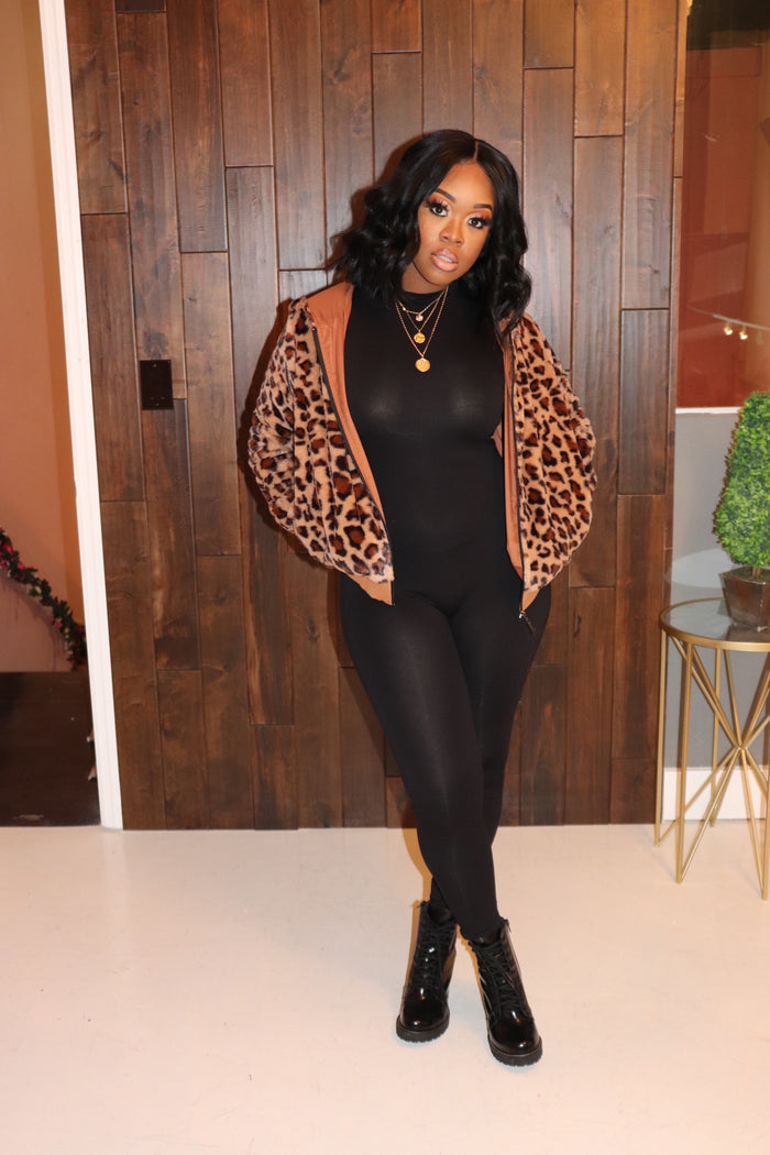 "The ""Leopard"" Puff Jacket"