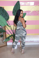 "The ""Army Fatigue"" Mc Hammer Jumpsuit"