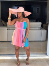 "The ""Sweet Like Candy"" Colorblock Dress"