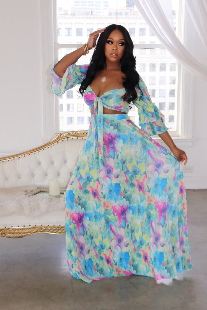 "The ""Sea Breeze"" Skirt Set SHIP DATE 3/26"