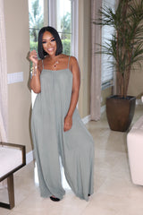 "The ""Such A Catch"" Olive Jumpsuit"