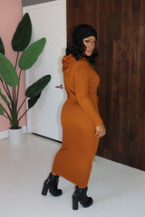 "The "" Amy Girl"" Rust Dress"