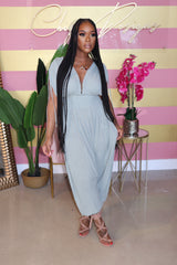 "The ""Jasmine Girl""  Sage Jumpsuit"