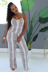 "The ""Snake Skin"" Jumpsuit"
