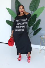 "The ""T-Shirt and Sneakers"" T-shirt Dress"
