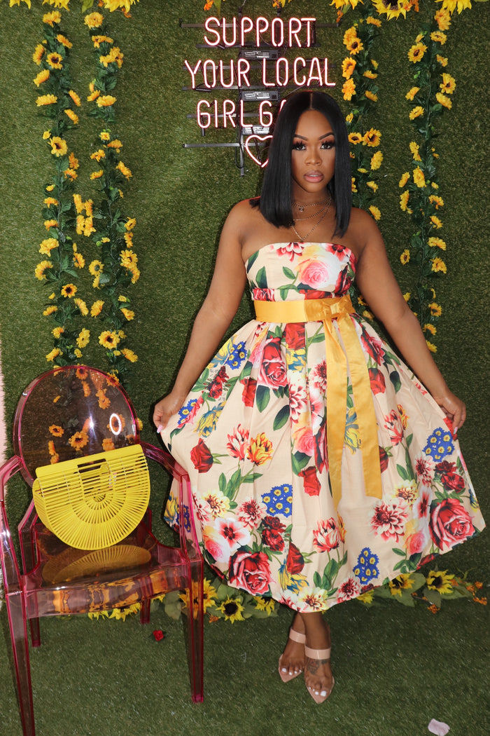 "The ""Tea Time"" Floral Dress"