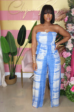 "The ""Can't Wait For Vacay"" Blue Set"