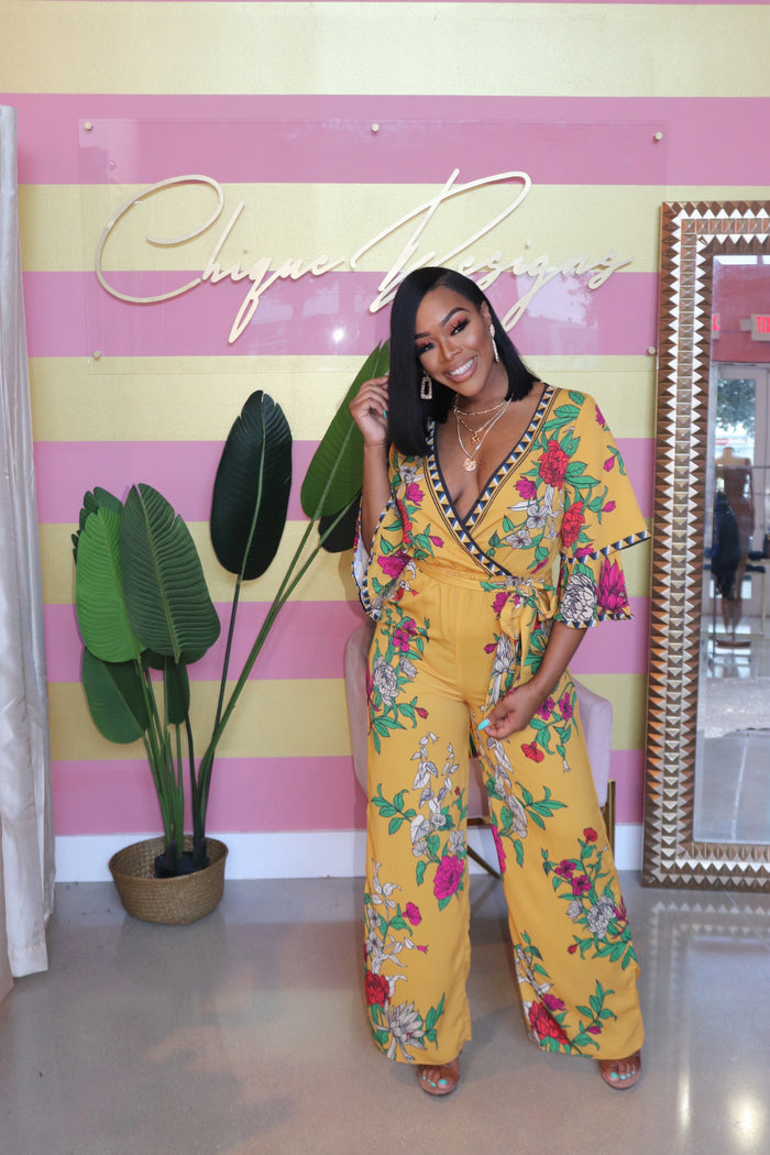 "The ""Lady Of Floral"" Jumpsuit"