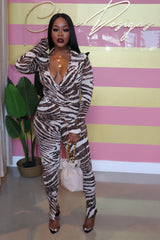 "The ""Zebra"" Print Set"