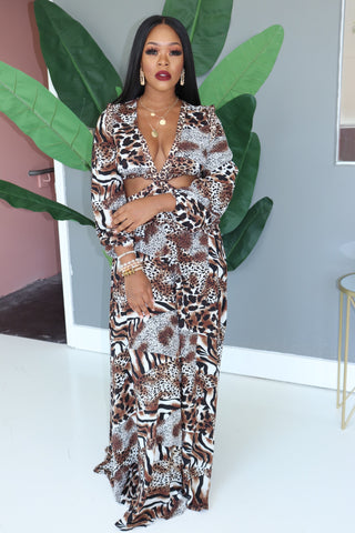 "The ""Safari"" Maxi Dress"