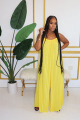 "The ""Color Girl"" Yellow Jumpsuit"