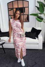 "The ""Valley Girl"" Pink Camo Dress"