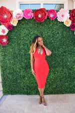 "The ""Red"" Love Me Bandage Dress"