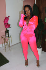 "The ""Gone Girl"" Neon Pink Set"