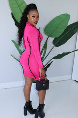 "The ""Barbie"" Pink Dress"