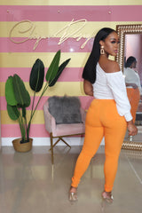 "The ""Spring Vibe"" Orange Pants"