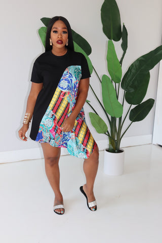 "The ""Black Tunic"" Multi Dress"