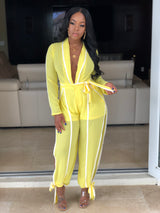 "The ""Yellow Party Girl"" Jumpsuit"