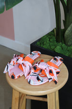 "The ""Spring Break"" Orange multi sandals"