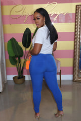 "The ""Spring Vibe"" Blue Pants"