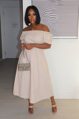 "The ""Brunch Girl"" Nude Dress"