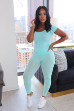 "The ""It's Seamless"" Aqua Set"