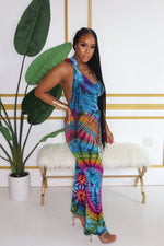 "The ""Rainbow"" Hoodie Fun Girl Jumpsuit"