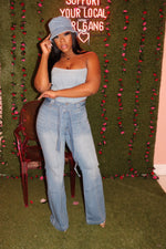 "The ""Missy"" Light Denim High-waist Jeans"