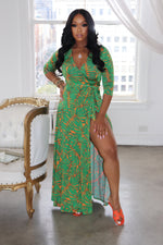 "The "" Sun Daze"" Green Dress"