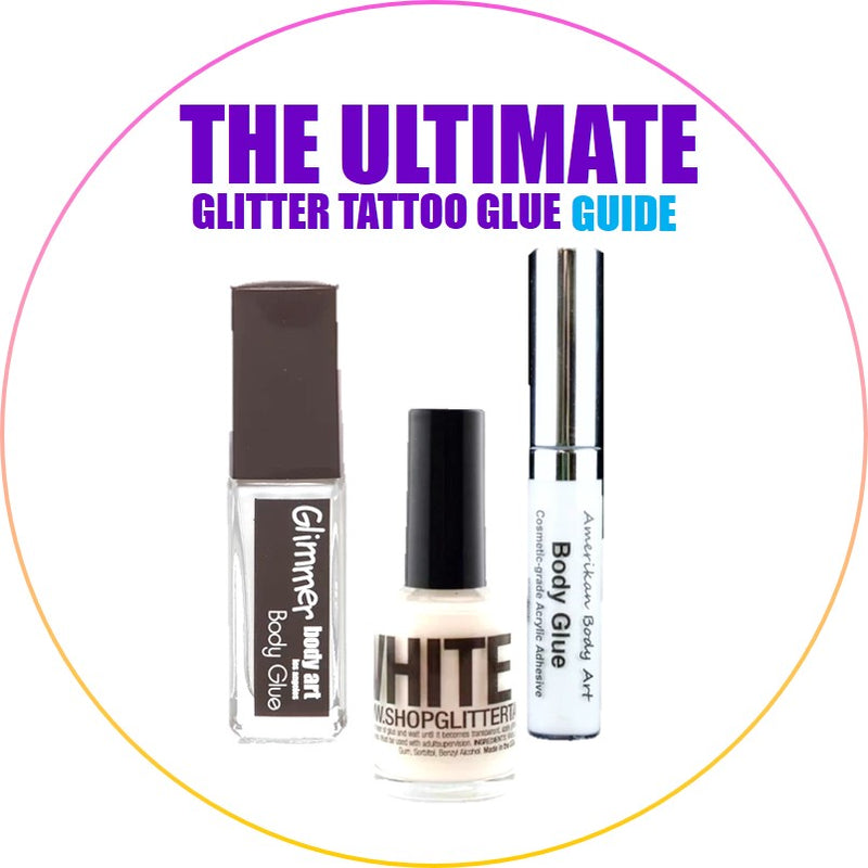 Glitter Tattoo Glue The Ultimate Guide To The Perfect Body Adhesives Jest Paint Store