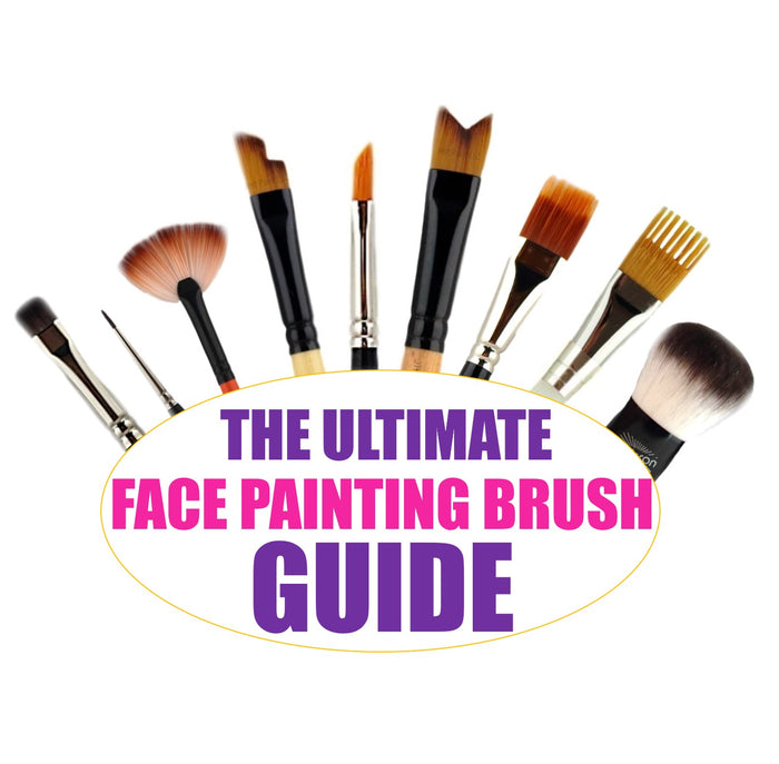 The ULTIMATE Face Painting Brush GUIDE