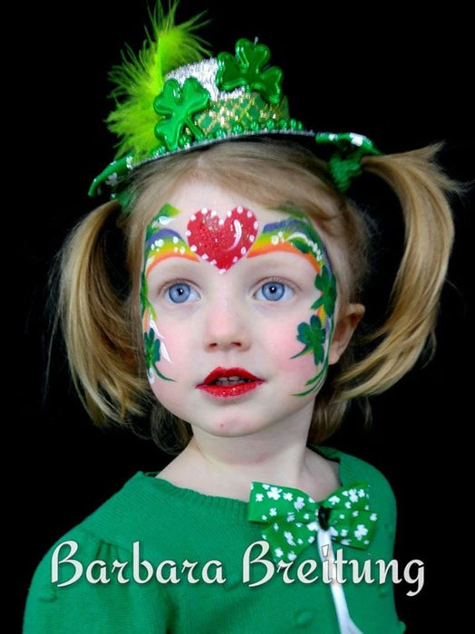 The Ultimate St. Patrick's Day Face Painting Blog Post