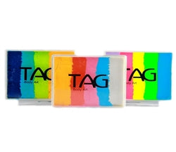TAG Rainbow Split Cakes/Base Blenders - 50gr approx