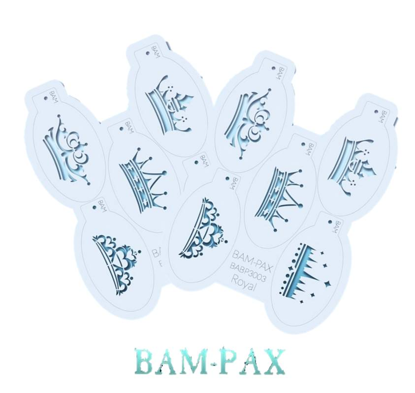 BAM PAX and FIRST CLASS Stencil Sets