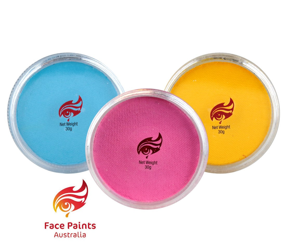 Face Paints Australia - Essential Colors