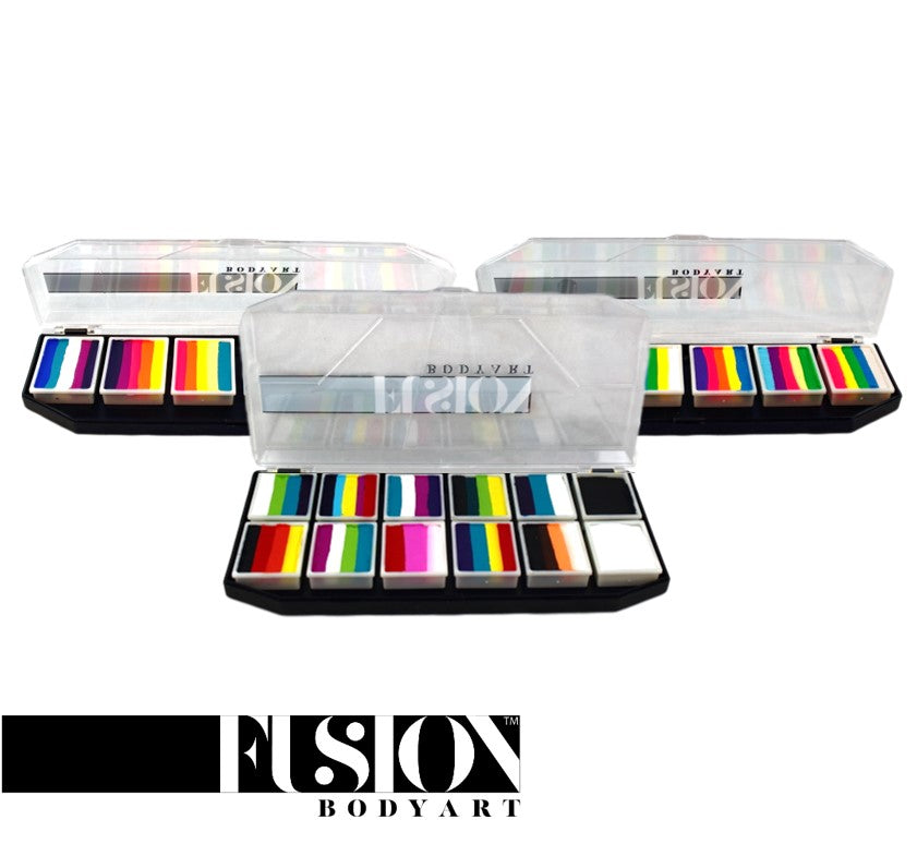 Fusion Body Art Face Paints - Spectrum Palettes