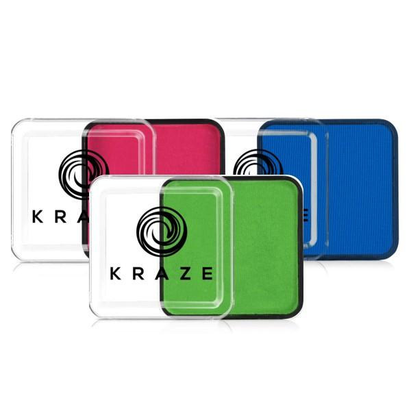 Kraze FX Face Paints - Matte Colors
