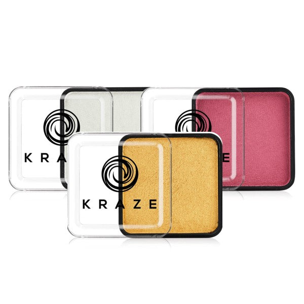 Kraze FX Face Paints - Metallic Colors